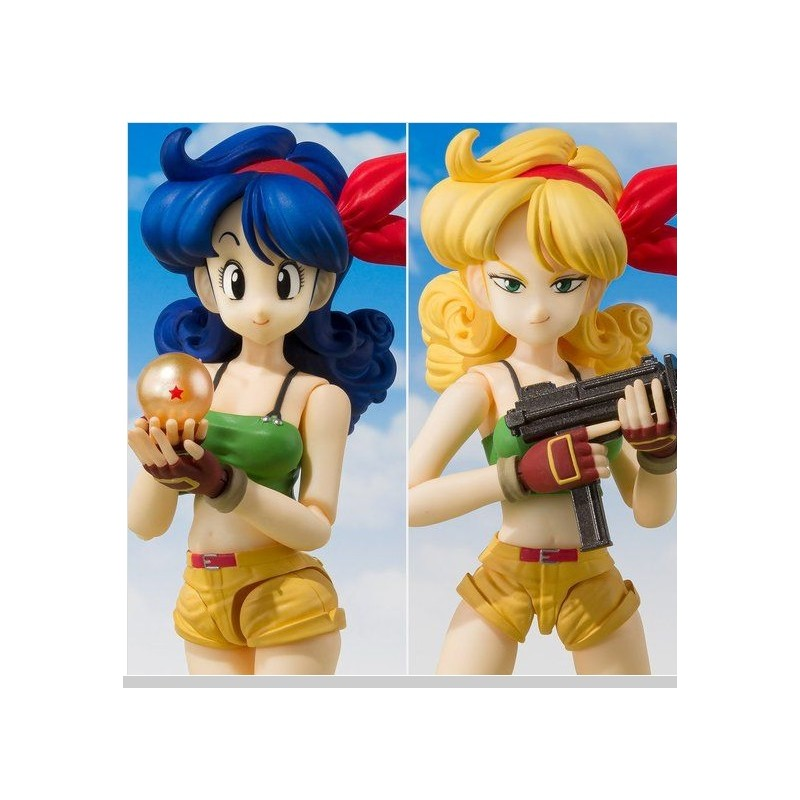 DRAGON BALL LUNCH LAURA S.H. FIGUARTS ACTION FIGURE BANDAI
