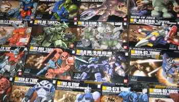 Gundam model kit Bandai: the best gundam gunpla