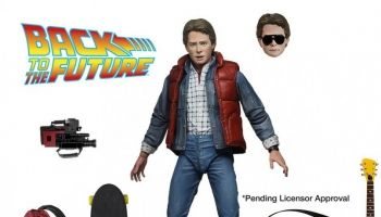 New Back to the Future figures branded Neca in preorder